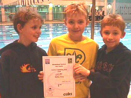 District Swimming Gala 2006 - Pinkneys Green Cub Scouts