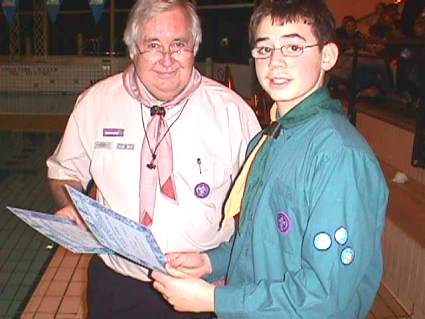 District Swimming Gala 2006 - Pinkneys Green Scouts
