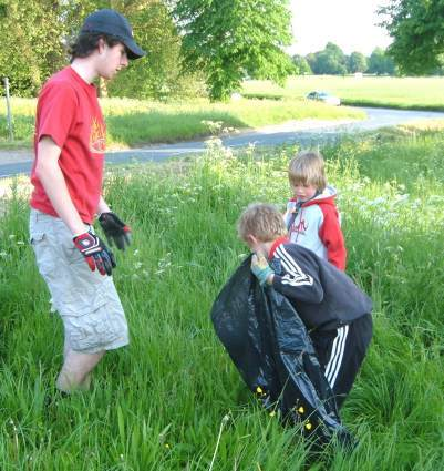 2006 Half Term Litter Clearing