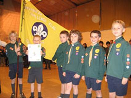District Flag Competition 2007 - Pinkneys Green Cub Scouts