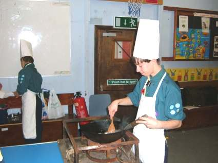 Chef Cooking Competition -  2006 - Pinkneys Green Scouts