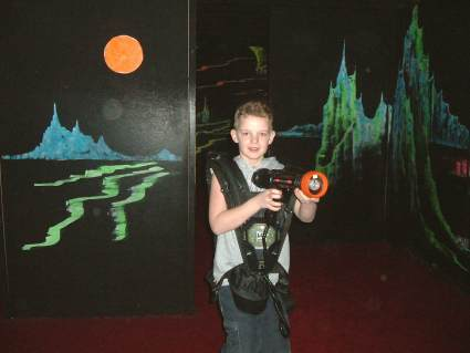 Evening at Laser Quest Wokingham 2006